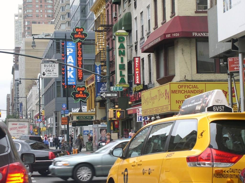 реклама и архитектура города
